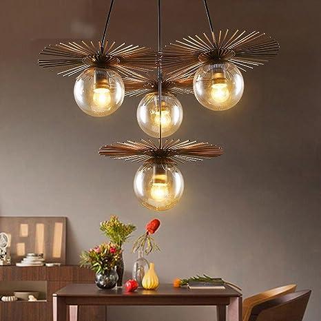 Retro - Lámpara de techo creativo Art Deco diseño Magic Bean ...