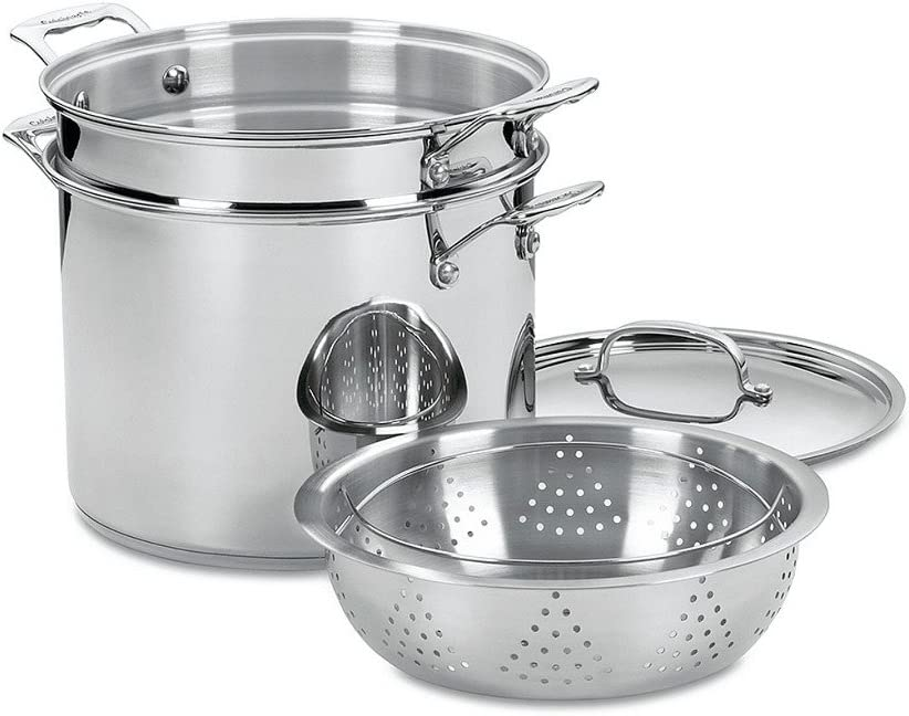Cuisinart Chef's Classic Stainless 12-Qt. Pasta Steamer Set