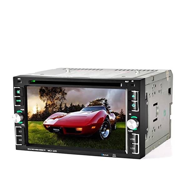 Amazon Com Veepola 6 5 Double 2din Car Stereo Cd Dvd Player