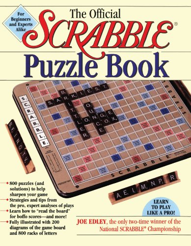The Official Scrabble Puzzle Book (Official Scrabble)