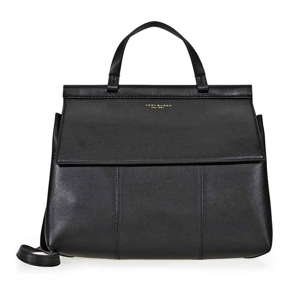 62c3dba1ed Amazon.com: Tory Burch 35456009 T Satchel Ladies Medium Leather Handbag:  Watches