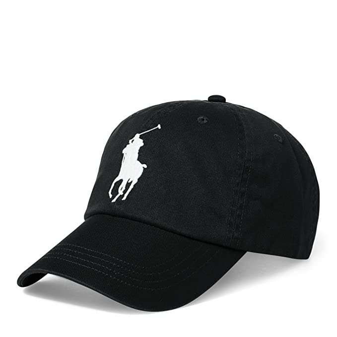 Polo Ralph Lauren Men`s Cotton Chino Baseball Cap With Adjustable ...