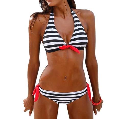 TWIFER Damen Bikini Oberteile Push up Set Badeanzüge Bademode