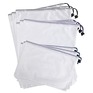 BTSKY malla lavable respetuoso con el medio ambiente reutilizable para producir bolsas de almacenamiento, bolsas de cordón, bolsa para compras, ...