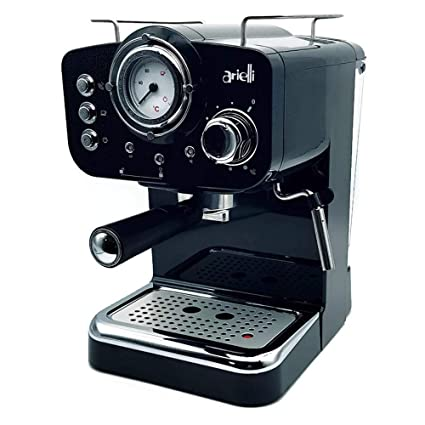 ARIELLI KM-501B Macchina Caffè Espresso Macinato/Cialde 2 Filtri per ...