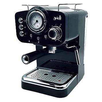 Máquina de café molido con termómetro led24dn6t2 km-501 W Espresso/Cappuccino 1/2 tazas 1100 W Bar 1.25L blanca: Amazon.es: Hogar