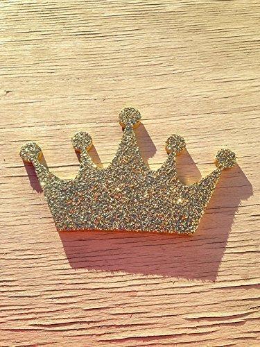 Amazon.com: Gold Glitter Princess Crown Decor, Wall Decoration ...