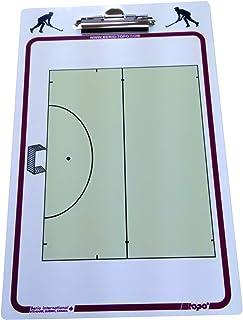 TOPO TPD Tableau Presse-Papier Hockey sur Gazon Mixte Adulte, Blanc/Bleu TOQC2|#TOPO