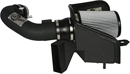 Dry, 3-Layer Filter aFe Power Magnum FORCE 51-11982-B Performance Intake System for Ford Mustang