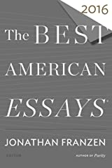Best American Essays 2016 (The Best American Series ®) Paperback