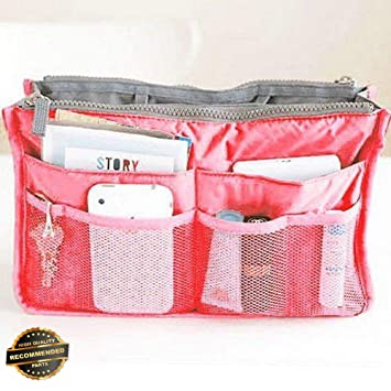 ae2e737c9502 Amazon.com   Gatton Makeup Organizer Large Travel Toiletry Bathroom Wash  Cosmetic Bag Storage Case