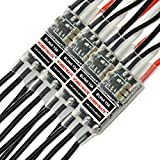 HOBBYMATE BLHeli-15A-ESC-Speed-Controller for 180-210-250 Racing-RC-Quadcopter Multicopter-TARGETHOBBY ( Pack of 4 )
