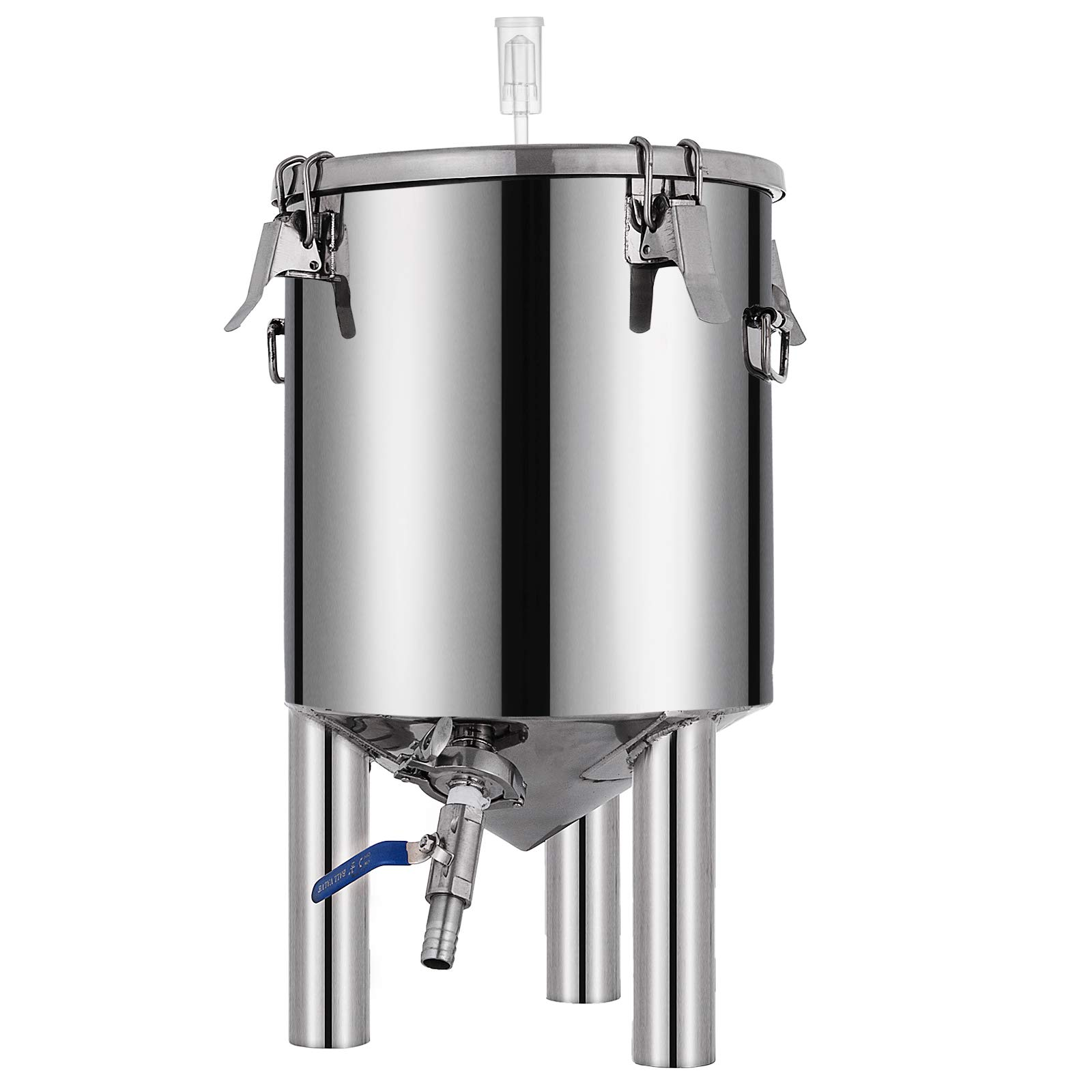 VEVOR 7 Gallon Stainless Steel Brew Fermenter Home Brewing Brew Bucket Fermenter With conical base Brewing Equipment by VEVOR (Image #3)