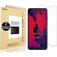 Pellicole Protettiva Huawei P20, Vigeer [2 Pack] [0,3mm, 2,5D] [Senza Bolle] [Durezza 9H] [Facilità Di Installazione] [HD Clear] Protezione Dello Schermo in Vetro Temprato per Huawei P20
