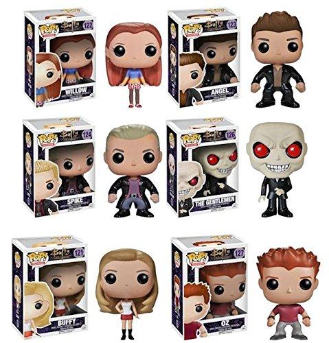 Funko Pop TV Buffy The Vampire Slayer Summers Willow Angel Spike Gentlemen Oz (Buffy The Vampire Slayer Oz And Willow)