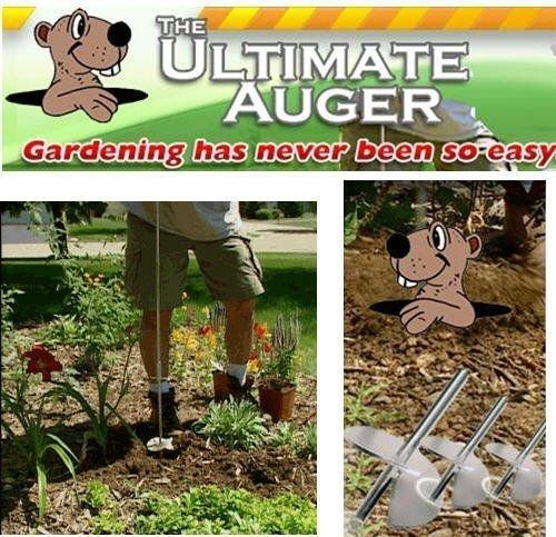 Happy Housewares 890205 Ultimate Awesome Auger by Happy Housewares