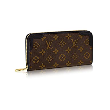 0b815fd81e698 Image Unavailable. Image not available for. Color  Authentic Louis Vuitton  Monogram Canvas Zippy Wallet ...