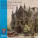 Elgar: Great is the Lord