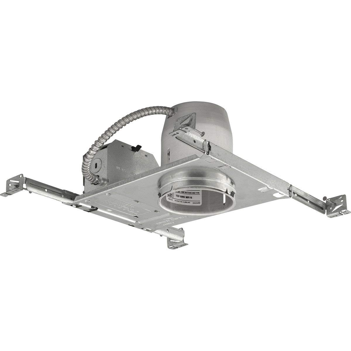 Progress Lighting P830-TG for New Construction or Remodel Work UL/CUL Listed, 1/2-Inch and 3/4-Inch Pryouts
