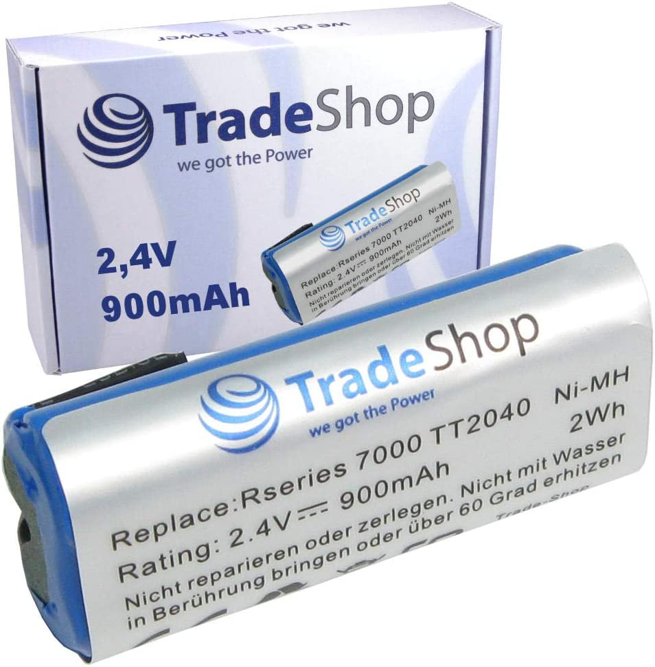 Trade-Shop - Batería para Philips Bodygroom Series 7000, TT2040/32, TT2030, TT2029, BG2024/32, BG2026/32, BG2036/32, R36#92, R45#54 (900 mAh, 2,4 V, 2 Wh): Amazon.es: Hogar