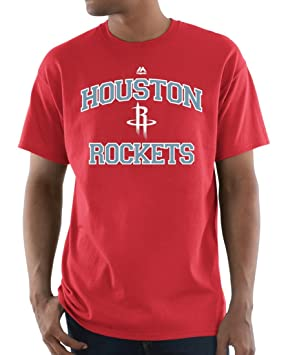 "Houston Rockets NBA Majestic ""Corazón & Alma 3"" camiseta de manga ..."