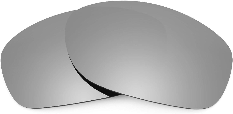 Revant Verres de Rechange pour Oakley Pit Bull - Compatibles avec les Lunettes de Soleil Oakley Pit Bull Titane Mirrorshield - Polarisés Elite