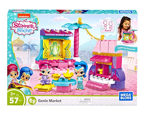 Mega Bloks Shimmer and Shine Buildable Azar Bazaar Market Set JungleDealsBlog.com