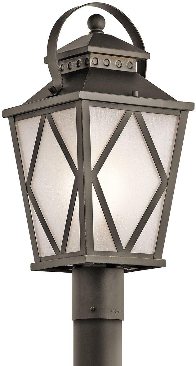 Kichler 49295OZ One Light Outdoor Post Mount