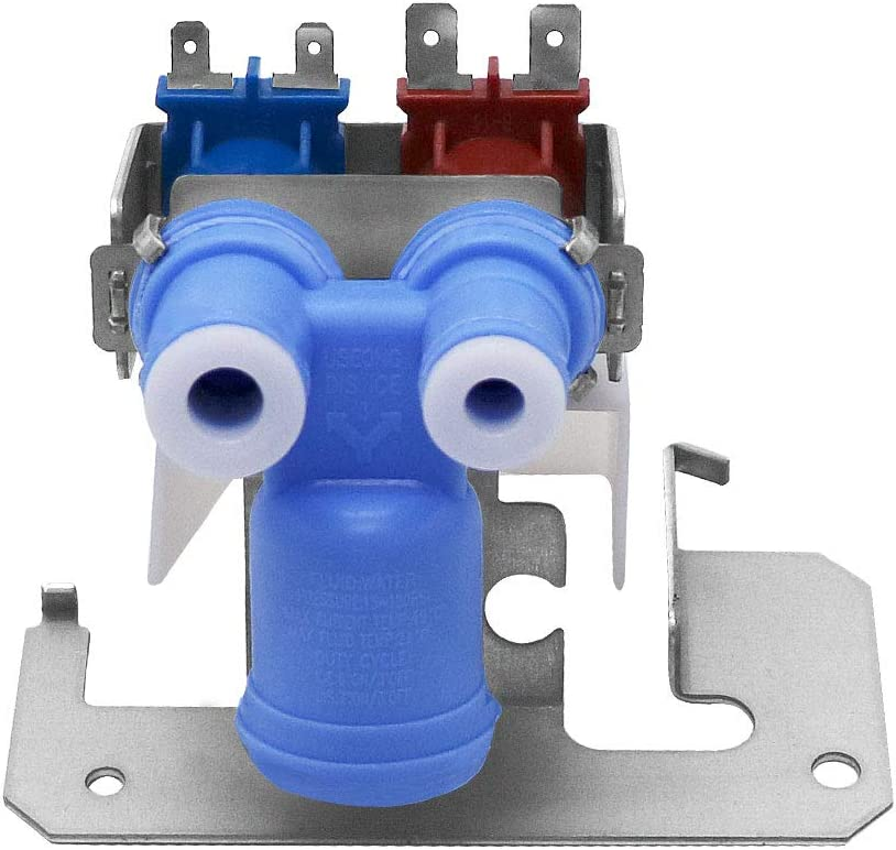AMI PARTS WR57X10051 Refrigerator Water Inlet Valve for GE Hotpoint Kenmore Icemaker Pump Replaces 1032629 AP3672839 PS901314 AH901314 WR02X10105