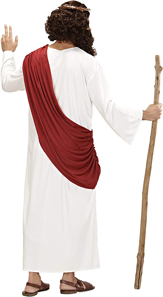 WIDMANN Widman - Disfraz de vicario sacerdote para hombre, talla L ...