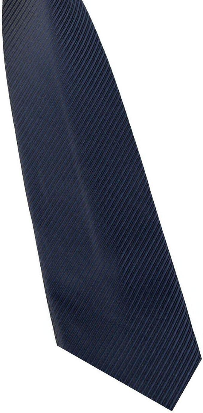 Sólido 8 cm Slim Ties hombres boda corbata moda hombre ...