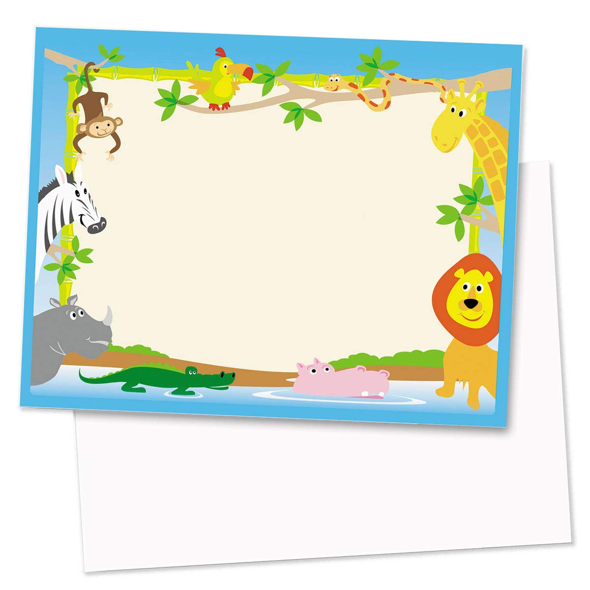 Zoo Crew Postcards, Jumbo Size, 200 Count