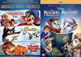 Classic Animated 5-Movie Bundle - An American Tail / Balto / The Land Before Time & Disney's Rescuers & Rescuers Down Under Bundle