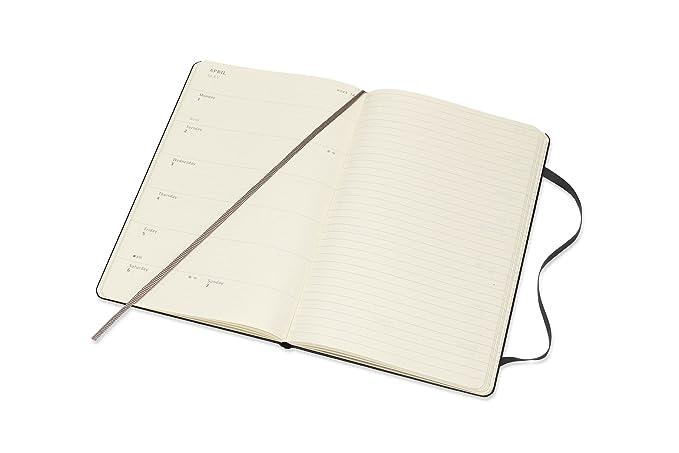 Amazon.com: Moleskine 2019 - Cuaderno semanal (39.4 ft, tapa ...
