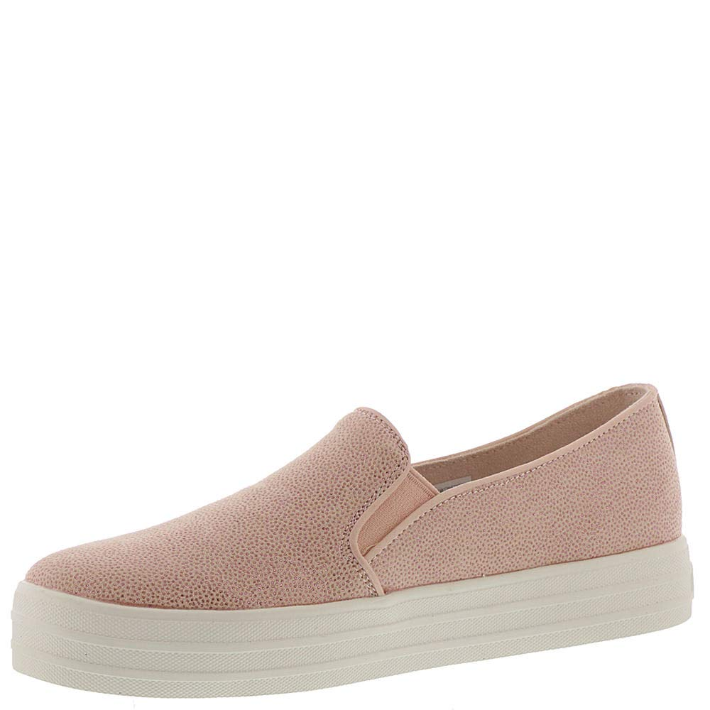 Skechers Double Up Fairy Dusted Womens Slip On Sneakers Light Pink 7.5 by Skechers (Image #4)