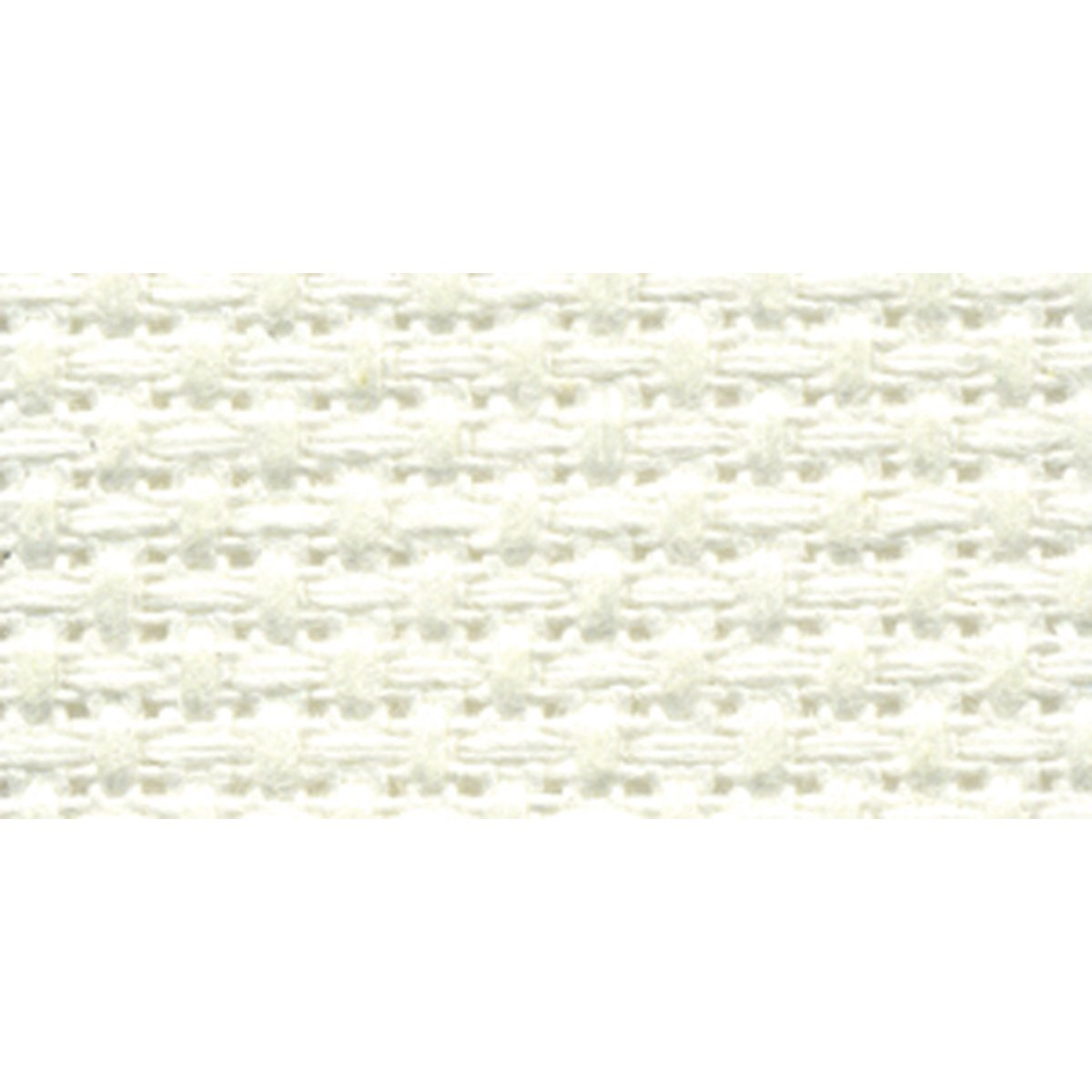 DMC TC8136-6750 Silver Label Aida Cloth with Soft Tube 11-Pack 15 by 18-Inch White
