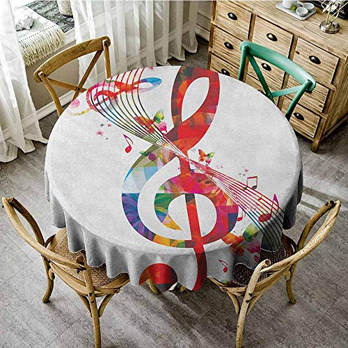 (Summer Round Tablecloth 43