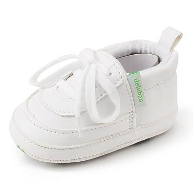 Toddler chaussures pantoufles de bébé cuir Chaussures bébé fille blanc q1hd2092n