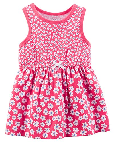 Carter's Baby Girls' Floral Jersey Dress 24 Months ()