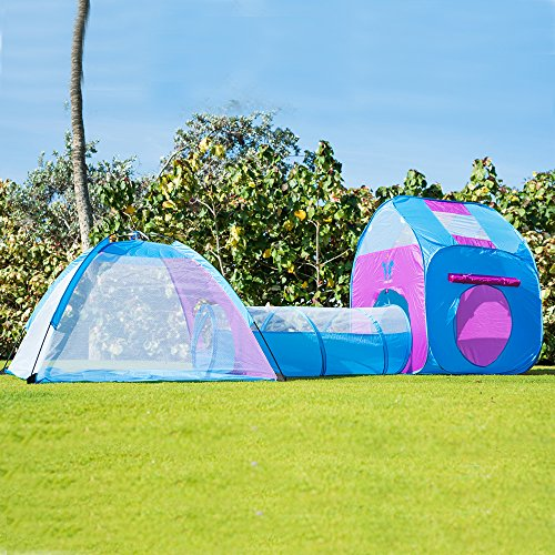 3 In 1 Children Play Tent Tunnel Play House - 2