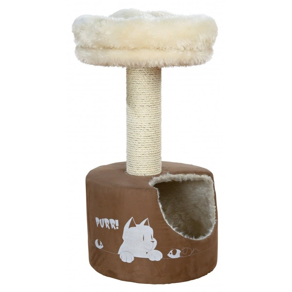 Trixie Elisa Cat Scratching Post (30.7 inch) (Brown/Cream)