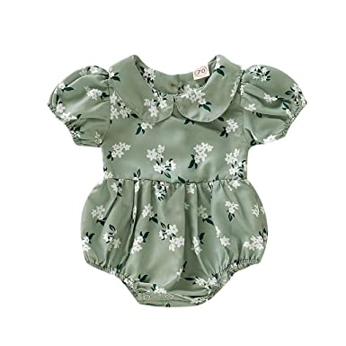 HEETEY Pijama para niña, recién Nacido, bebé, niña, Estampado ...