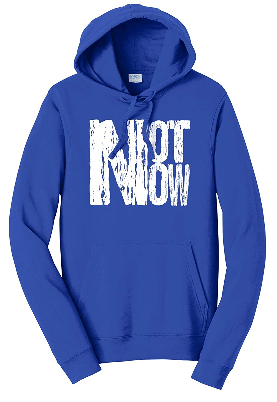 Tenacitee Unisex Not Now Sweatshirt