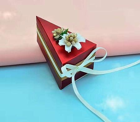 Amazon.com: 10 cajas de caramelos para tartas de boda, bodas ...
