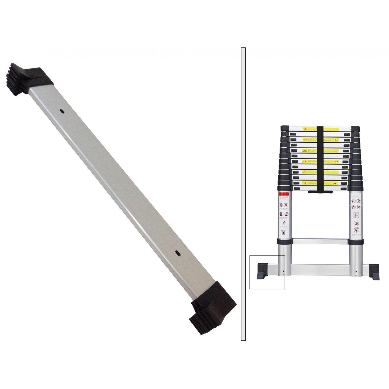 Charge maximale: 150 kg Barre stabilisatrice Todeco EN 131 Sac de transport OFFERT s /Échelle Pliable Echelle Telescopique Standards//Certifications: EN131-3,8 m/ètre