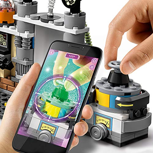 LEGO Hidden Side J.B.'s Ghost Lab 70418 Building Kit, Ghost Playset for 7+ Year Old Boys and Girls, Interactive Augmented Reality Playset, New 2019 (174 Pieces)