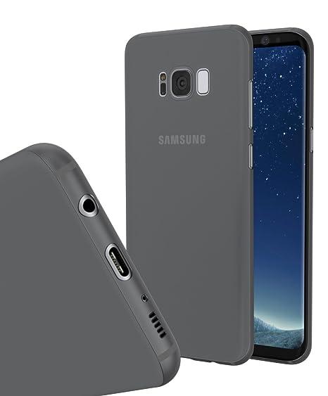 timeless design d66b2 24c92 Amazon.com: Galaxy S8 Plus Case Clear Black: Electronics