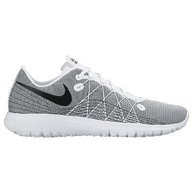 f665bf463371 NIKE New Women s Flex Fury 2 Running Shoe White Black 6