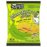 Samai Plantain Chips Salted - 75g - Pack of 4 (75g x 4)