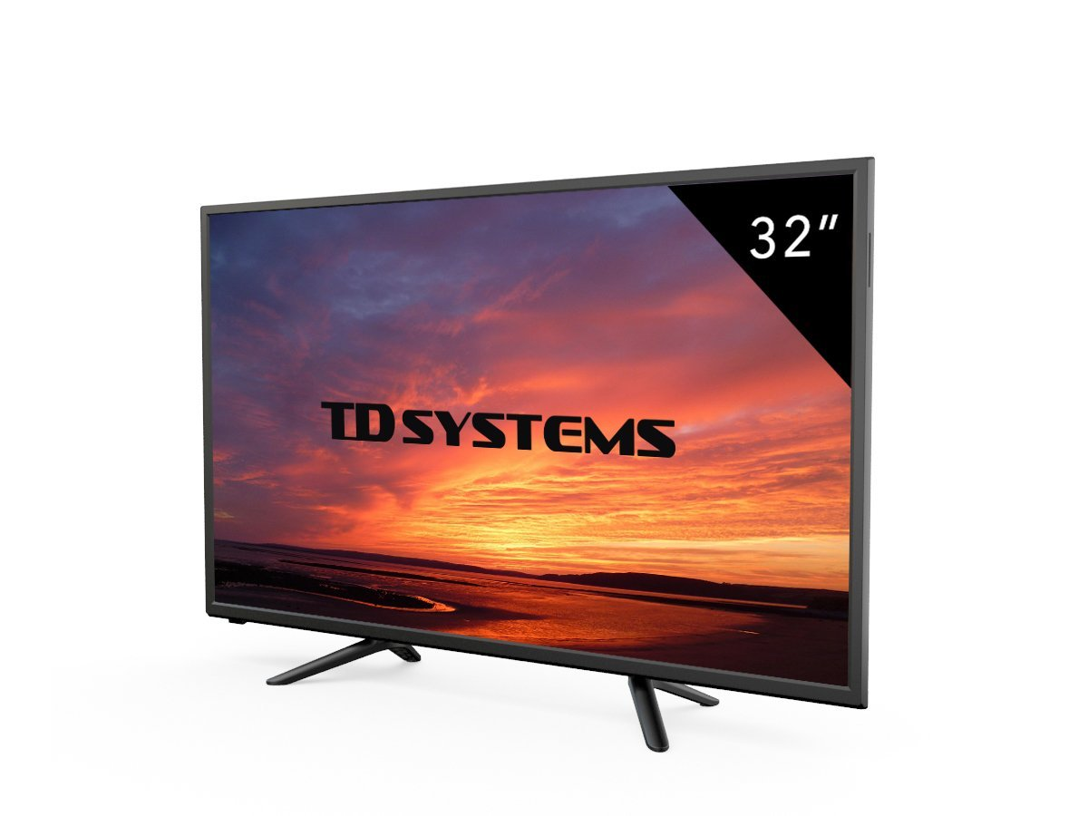 Televisores Led 32 Pulgadas HD TD Systems K32DLT7H, Resolución ...